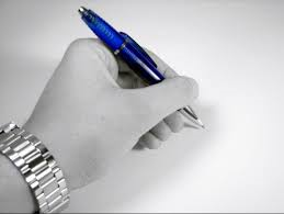 Leave me alone.  I want to write with this hand, thank you very much.