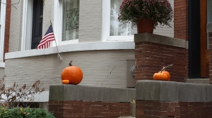 Flags and Pumpkins.  Who knew?