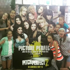 The REAL cast of Pitch Perfect 2, including the non-credited ones.